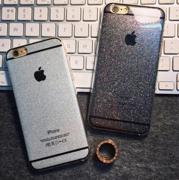 Funda Iphone 6 6 Plus Case Glitter Brillos Colores Apple