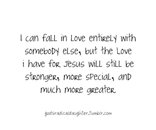 Overwhelming love.
