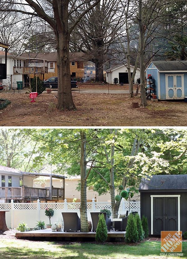 Gorgeous Backyard Makeover Before And After