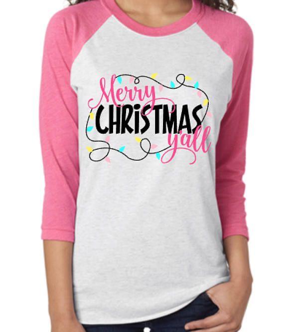 Merry Christmas Y'all Shirt Christmas T Shirt Cute