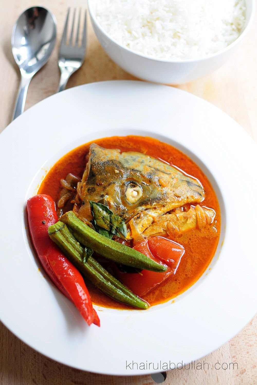 Kari Kepala Ikan Salmon Small Resep Seafood Resep Masakan Asia Resep Ikan
