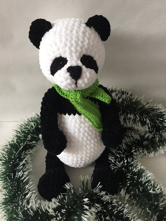 Crochet bear and panda pattern | Amiguroom Toys | 760x570