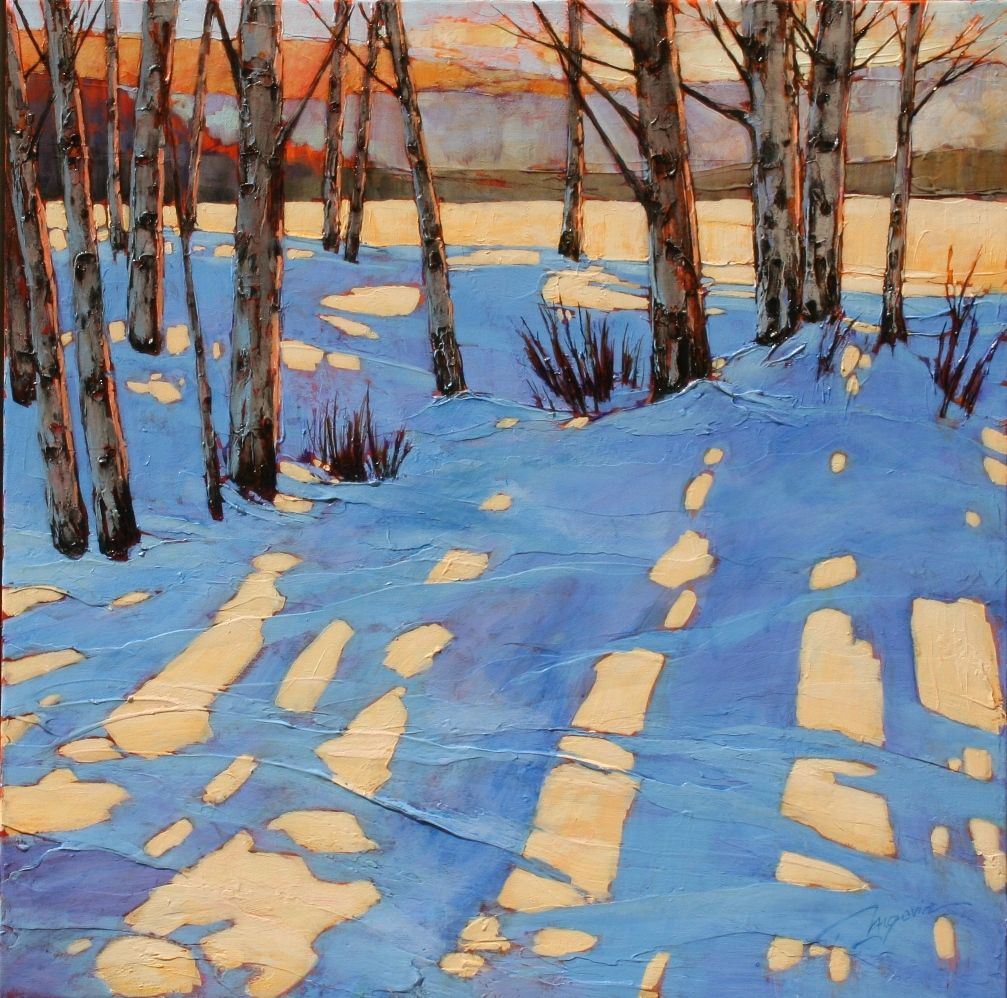what if it doesn't work out 40x40 ac #winterlandscape
