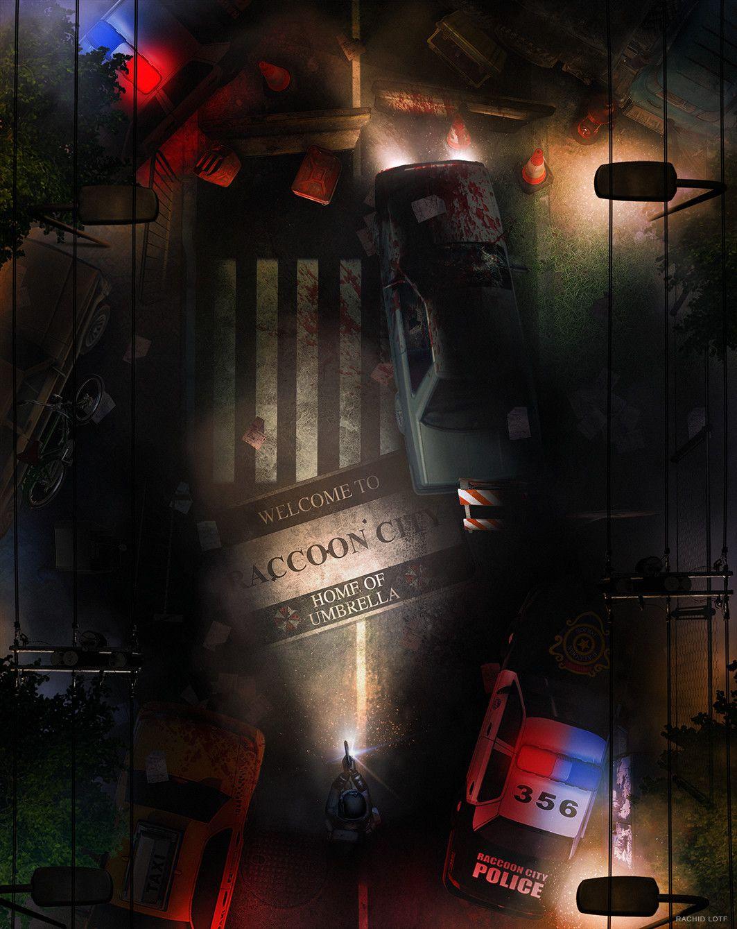 Resident Evil 2 Rachid Lotf On Artstation At Https Www Artstation Com Artwork Rpbeo Resident Evil Game Resident Evil Resident Evil Girl