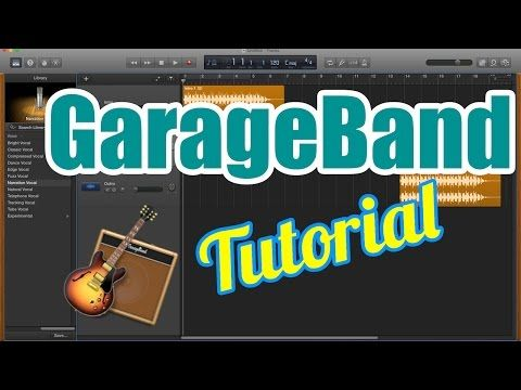 How To Record Music For Beginners In Garageband Part 1 General Walkthrough Loops Youtube Garage Band Music Software Grace Music
