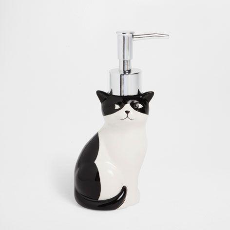 ネコ形ディスペンサー - バスアクセサリー - バスルーム | Zara Home 日本