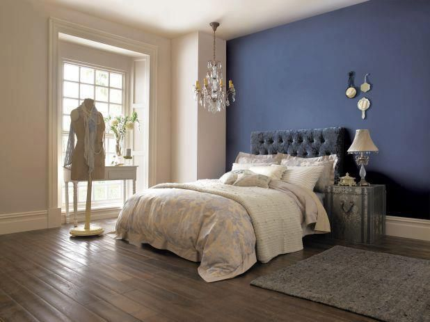 Feeling sophisticated? Try dark royal blues with light
