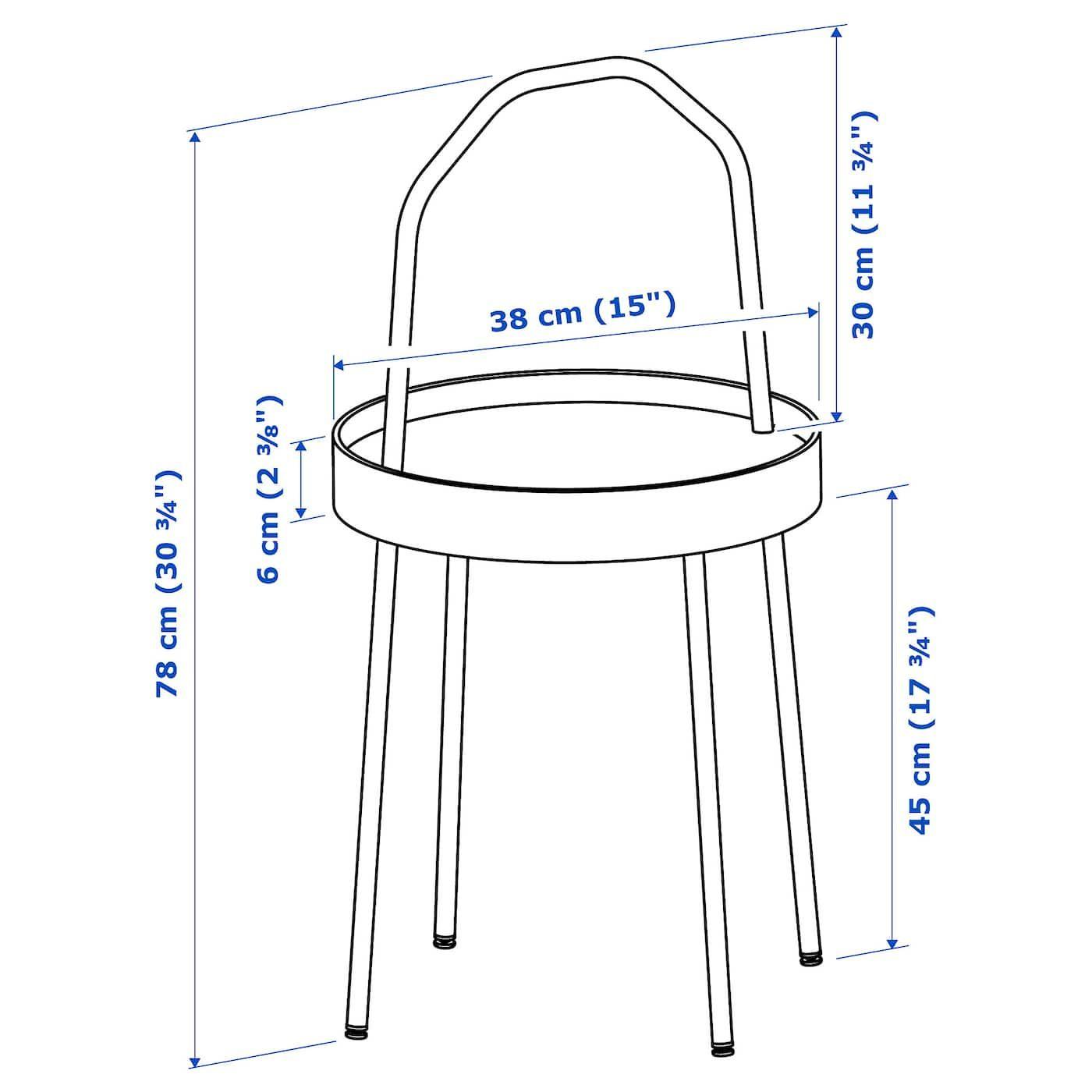 Burvik Table D Appoint Blanc 38cm Magasinez Chez Ikea Ikea White Side Tables Black Side Table Side Table