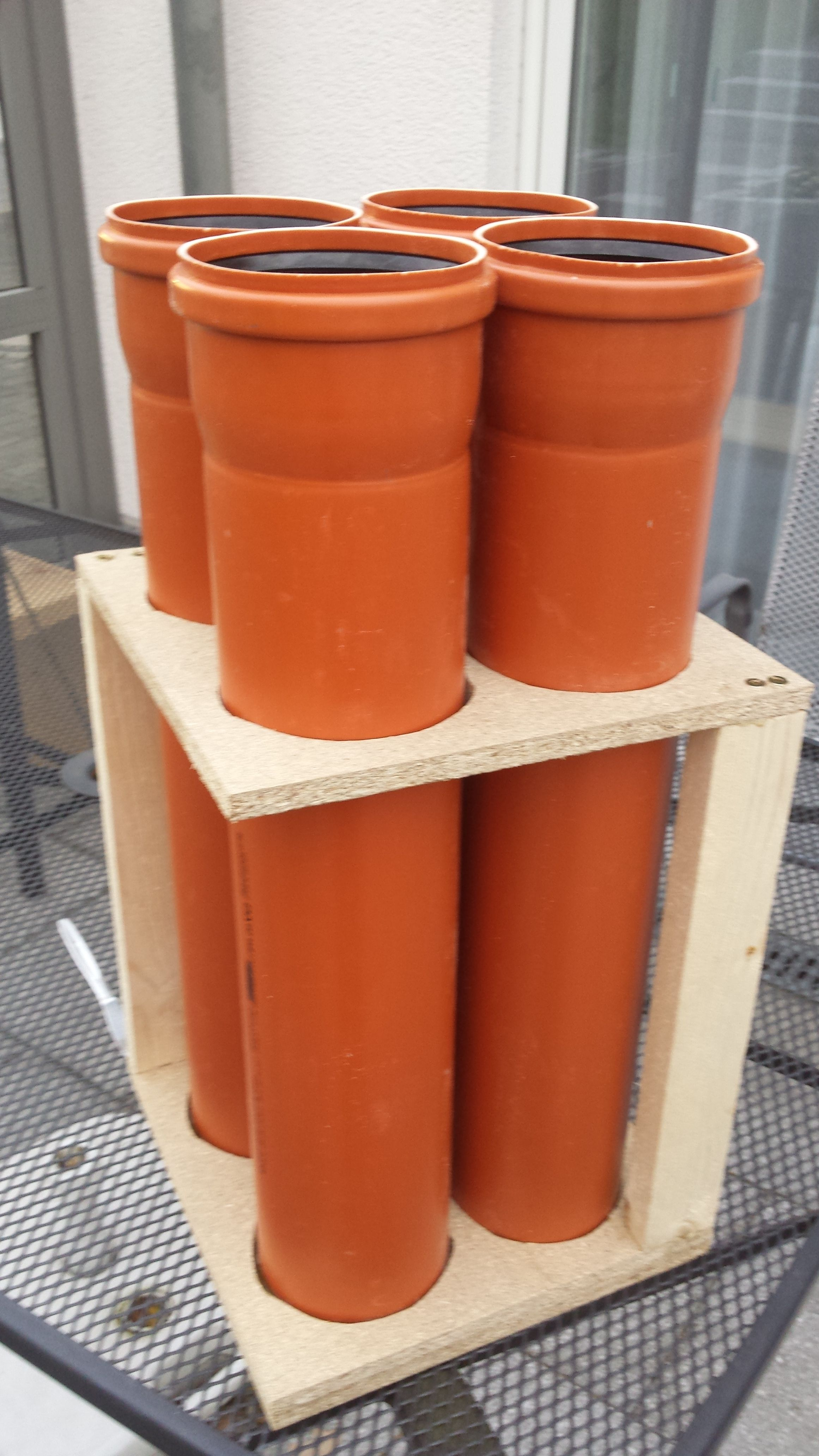 Photo of Storage for strips, threaded rods and pipes Building instructions …