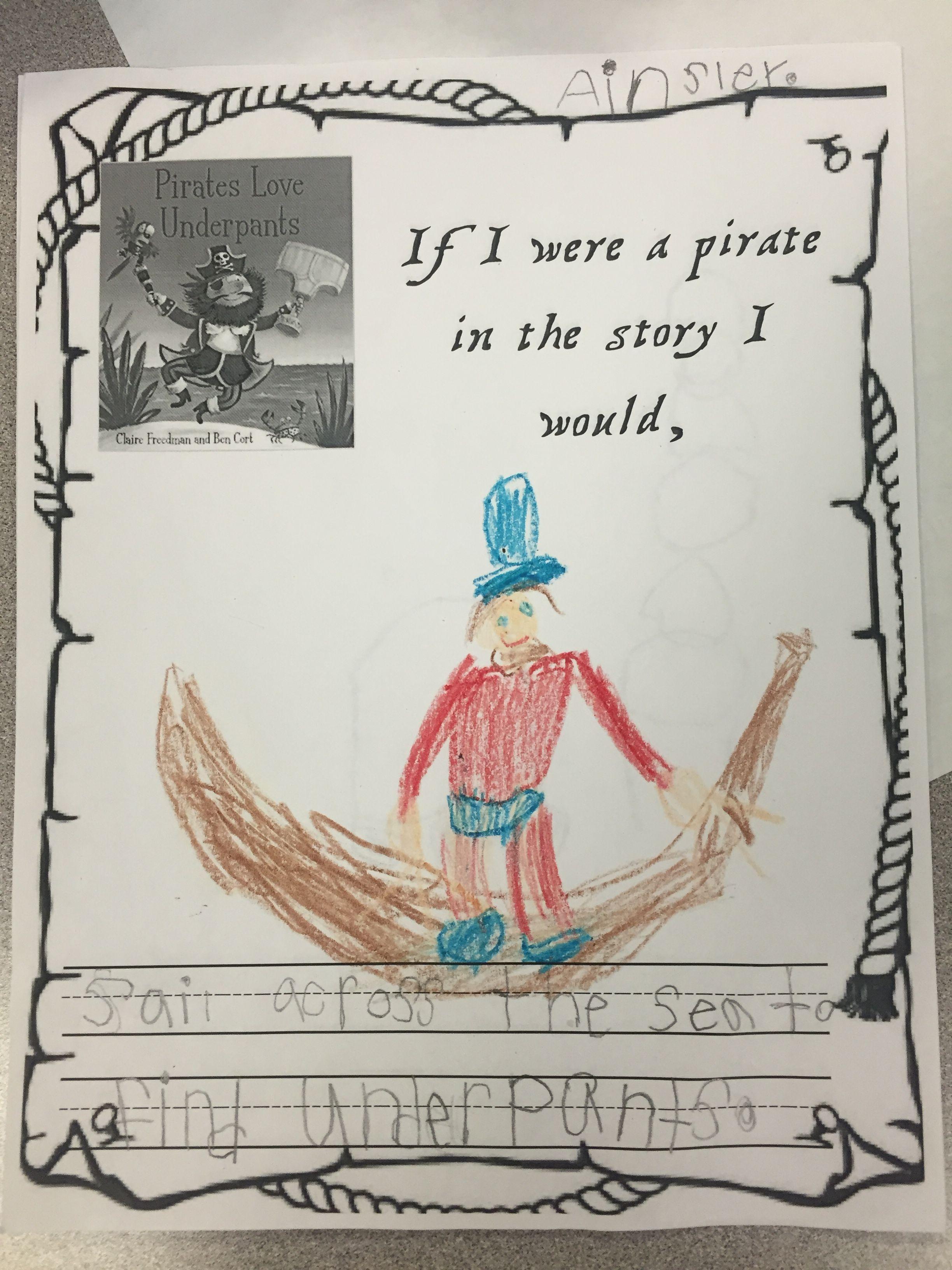 Pirates Love Underpants Writing Amp Illustration