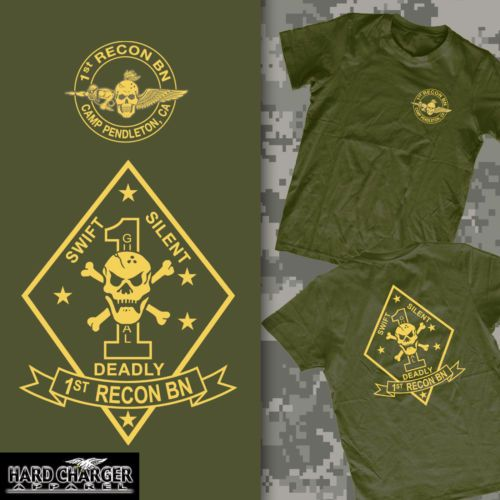 1st Recon Battalion USMC US Marines Sweatshirt