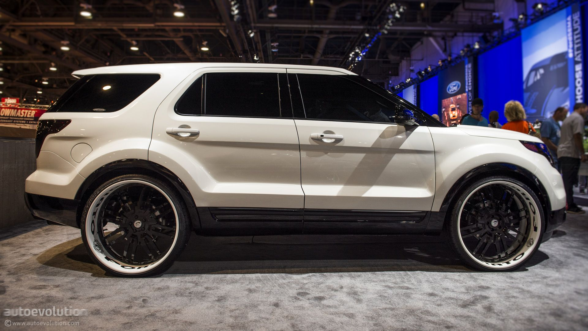 Ford Explorer Sport 2014 White Febcdcfecadddefbdb