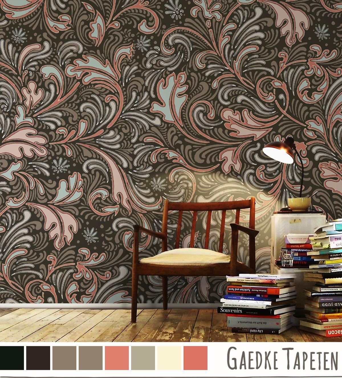 Wallpaper Pattern, Inspired By Mrs. Wilberforce