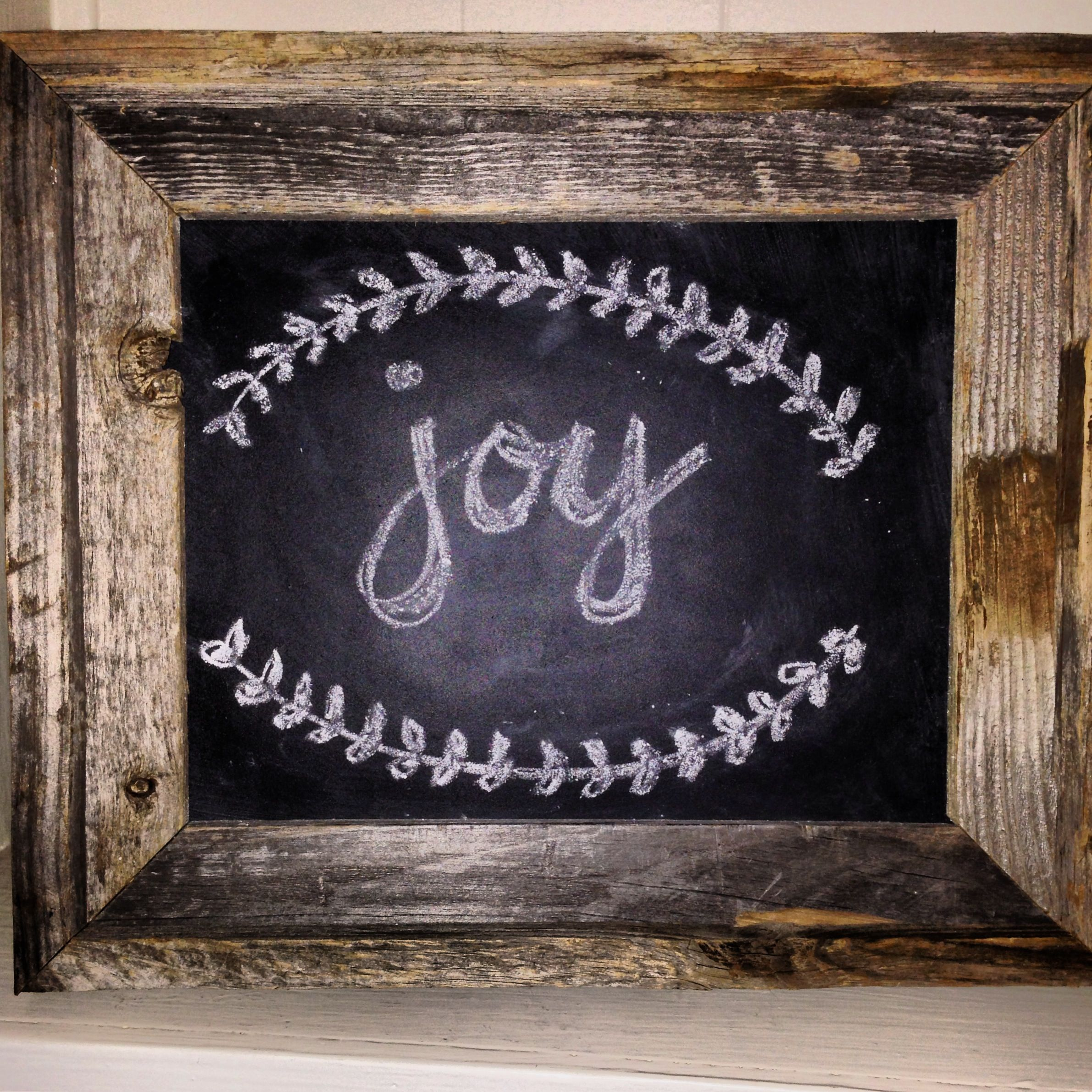Enchanting Chalkboard Paint On Picture Frame Glass Ornament - Ideas ...