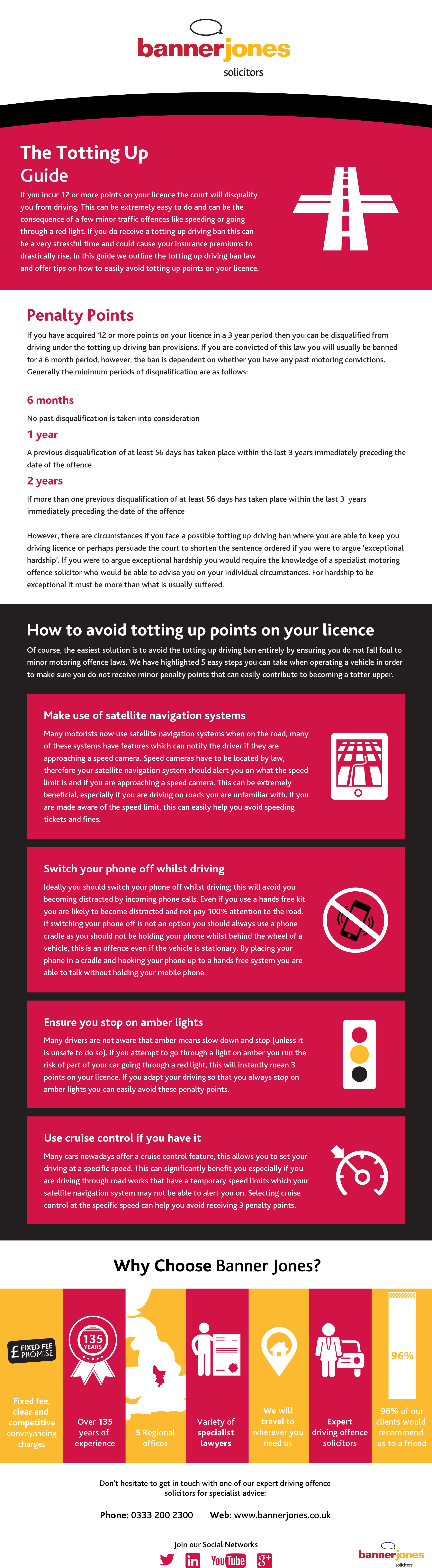 Did you know that using a sat nav can alert you to speed cameras and prevent you from totting up points on your license? Read more tips from our totting up guide!