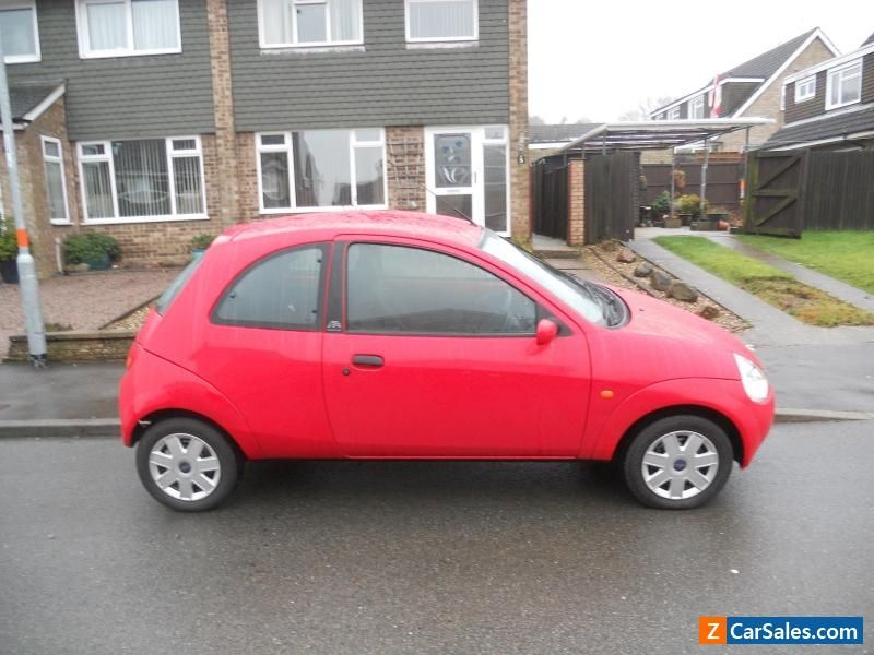 Ford Ka Collection Red   Speed Manual Hatchback Ford Kacollection
