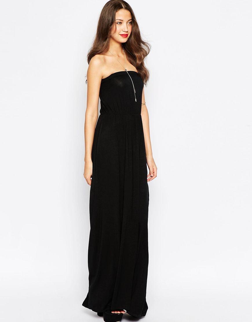 $34 ASOS TALL Bandeau Maxi Dress | Rapunzel | Pinterest | Dress prom ...