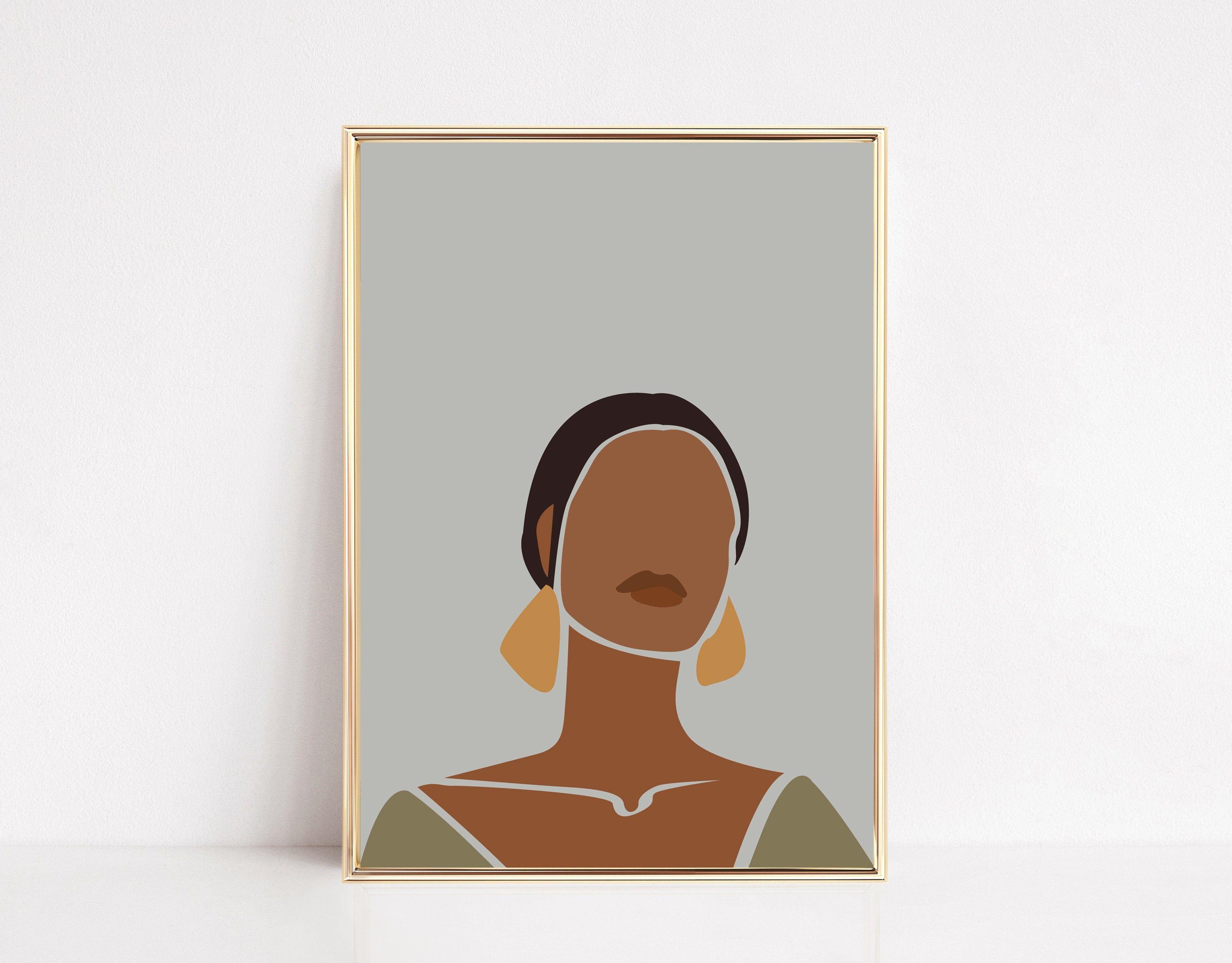 Black Woman Wall Art African American Wall Art Black Girl Etsy African American Wall Art Art Prints Wall Art