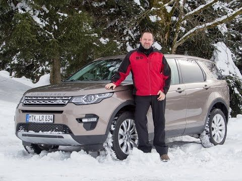 land rover discovery sport 2015 test - fahrbericht - youtube | auto