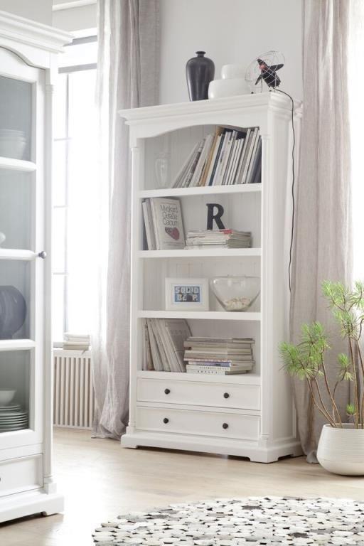 tiroirs étagère acajou bois blanc Bibliothèque en 2 8kONnw0PX
