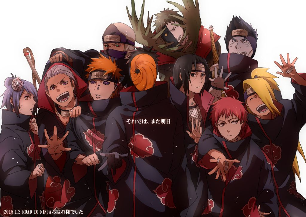 Akatsuki I Think They Re Just An Amazingly Powerful Group Of
