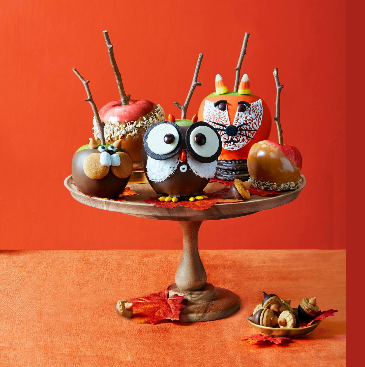 Candy Apples Recipe in 2020 Candy apple recipe, Candy