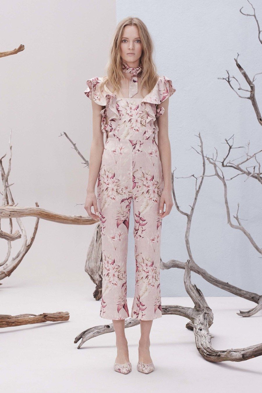 Zimmermann resort fashion show resorts models and collection