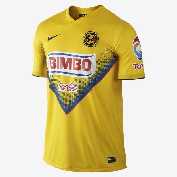 2013 14 Club America FC Stadium Men s Soccer Jersey  ecdc0842b