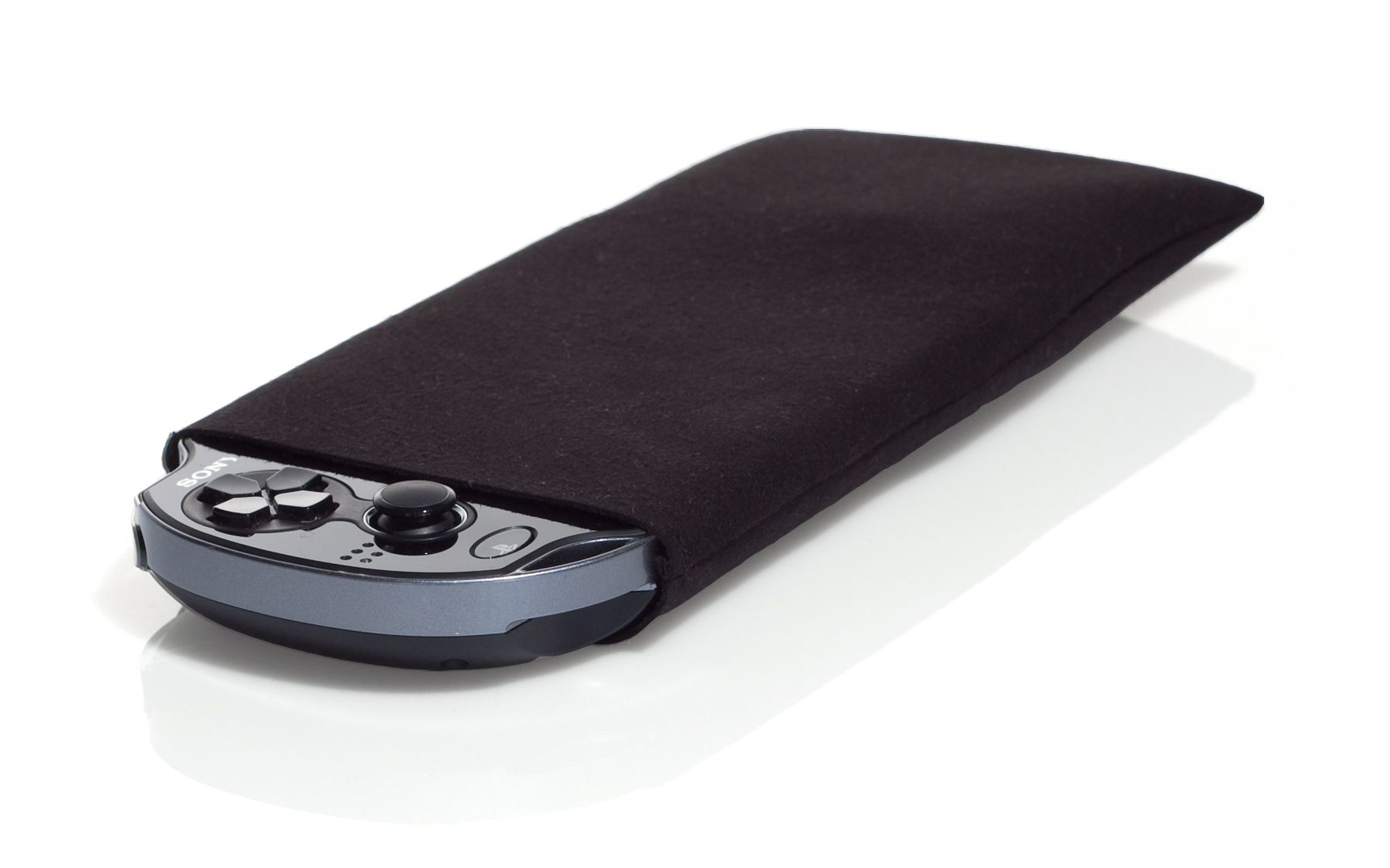 WaterField Designs PS Vita Suede Jacket - optional back pocket holds memory chips, ear buds, games, etc.     http://www.sfbags.com/products/ps-vita-cases/ps-vita-cases.php