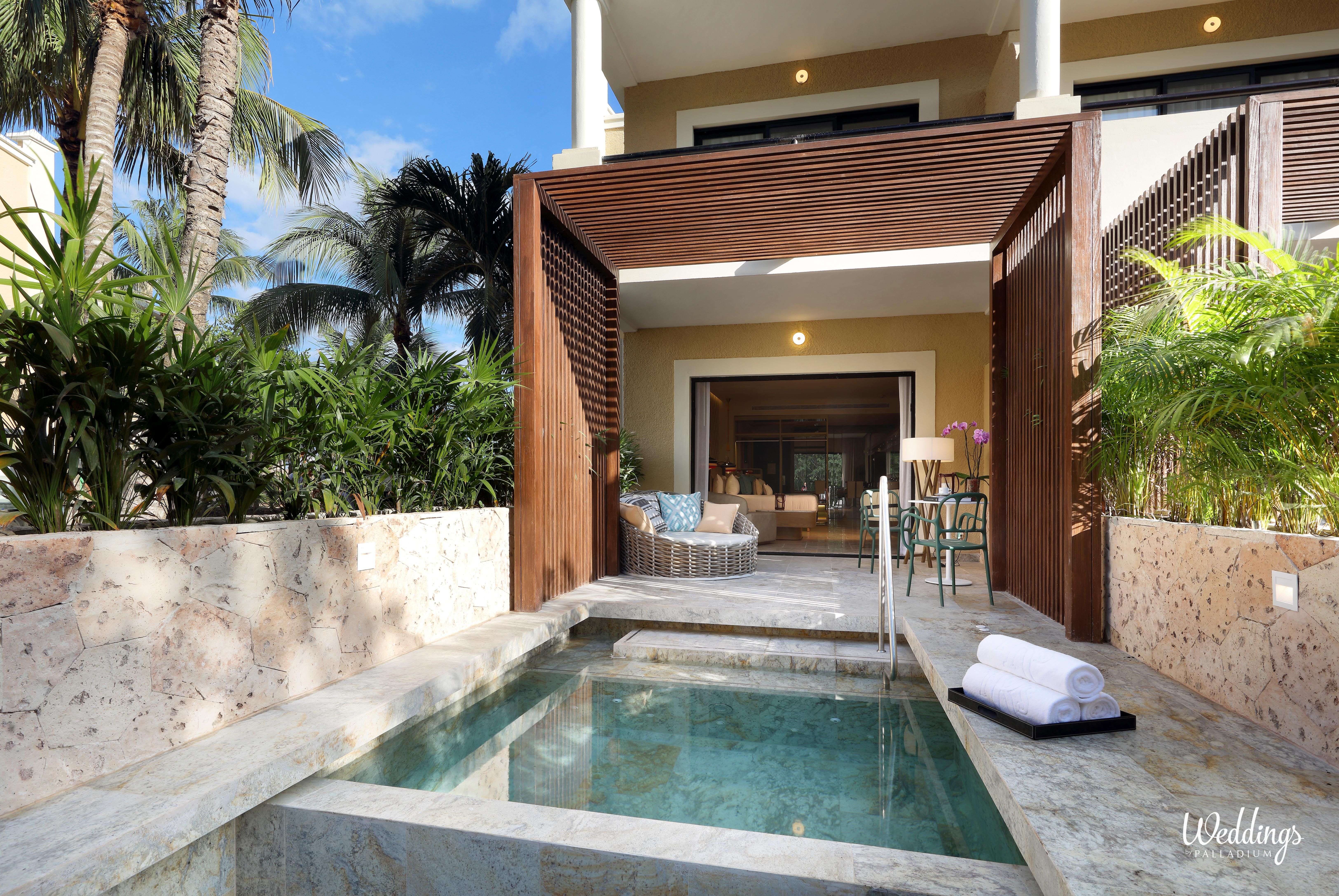 Junior Suite Private Pool In Trs Yucatan Hotel Riviera Maya Mexico Riviera Maya Vacation Deals All Inclusive Vacation Deals