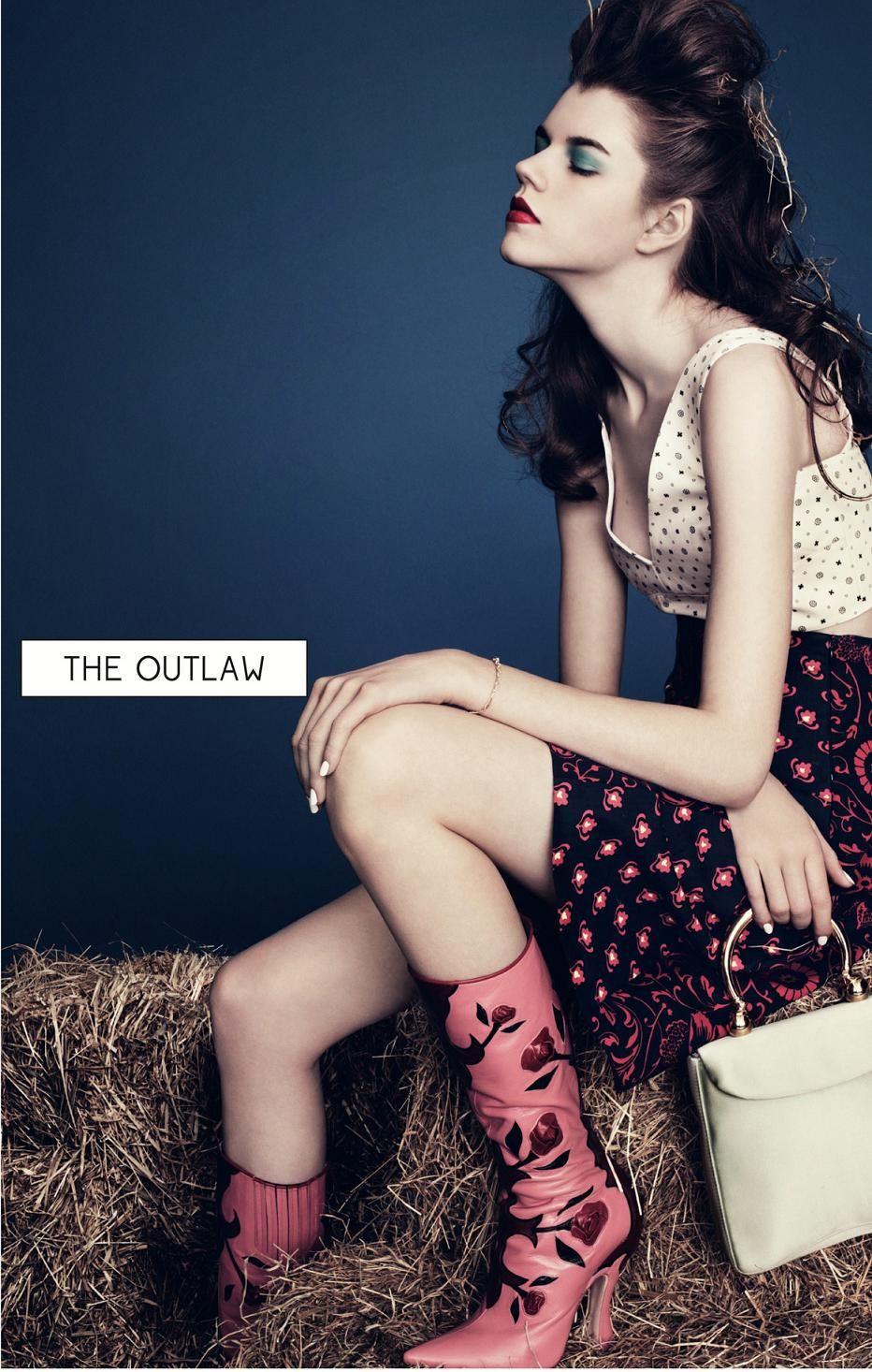 Antonia Wesseloh by Scott Trindle (The Outlaw - Dazed & Confused April 2012)