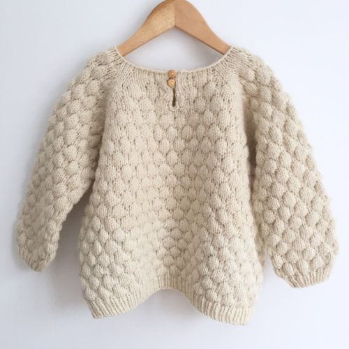 Bubble Stitch sweater | for little ones ☆ | Pinterest | Stricken ...