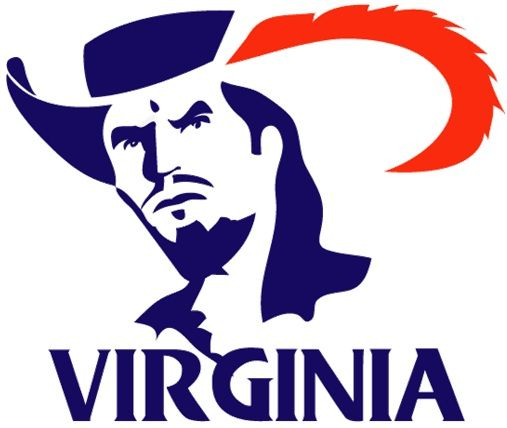 Amazing Old School Uva Logo Virginia Cavaliers Virginia Custom