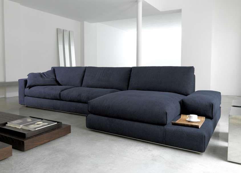 Divani angolari: i modelli più cool - Divano angolare blu ...