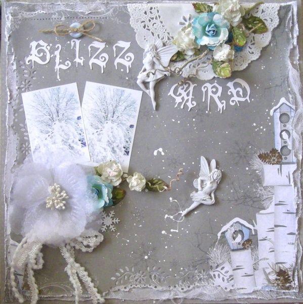 Blizzard ~ January Kit ~ Flakes of Snow