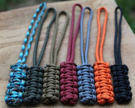 Cobra Stitch Paracord Lanyard With Paracord Loop With Images