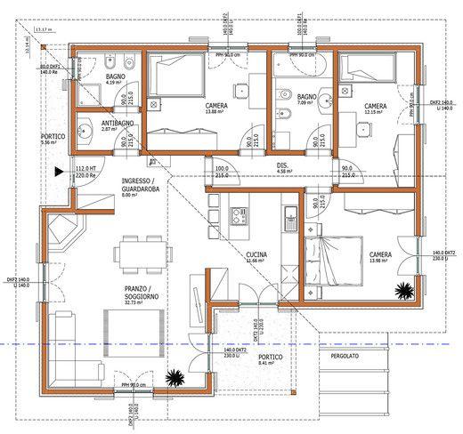 Wolf haus case prefabbricate aurora 145 progetti case for Progetti di casa sollevati