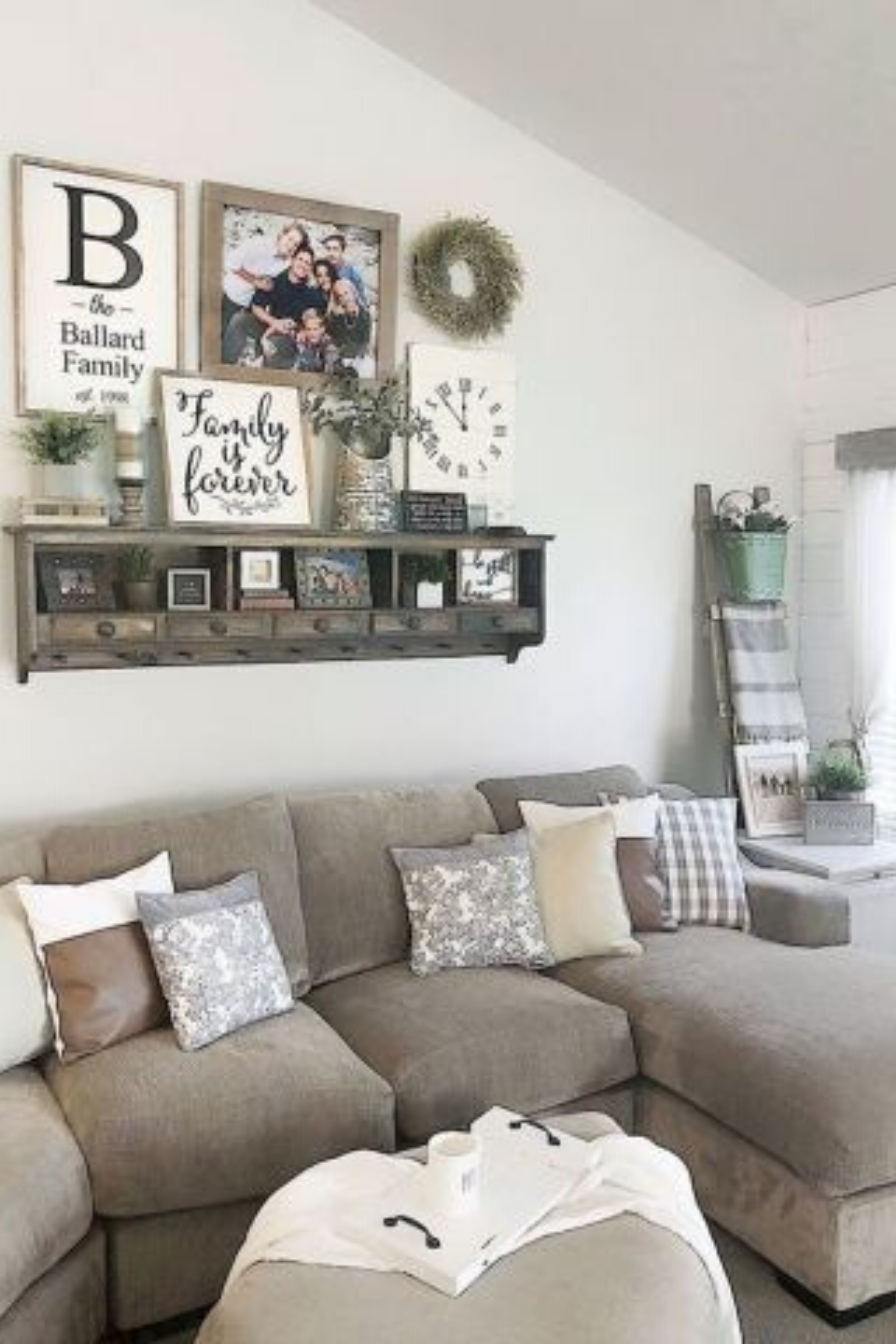 Wall Decor Inspiration Best Ideas How To Living Room Wall Decor Farm House Living Room Farmhouse Decor Living Room Family Room Walls