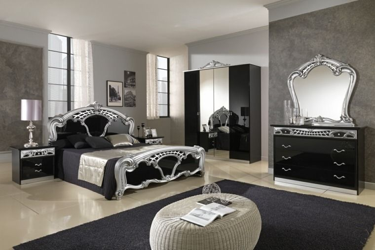 Chambre style baroque : luxueuse et pleine de caractère | Deco de ...