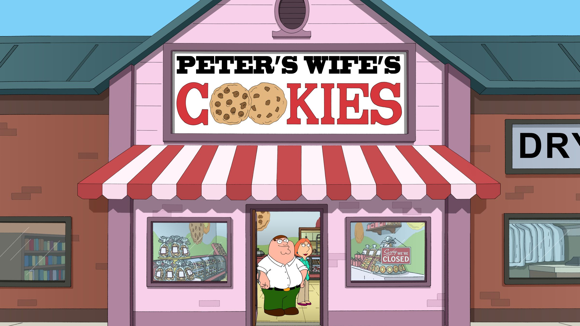 American Dad Wife peter + cookies = ?? all new family guy, tonight 9/8c