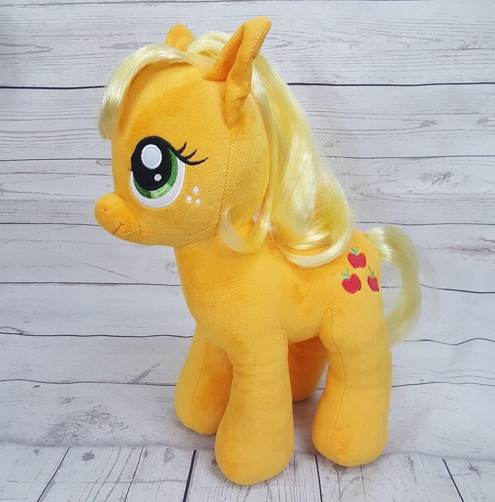 8105c2740 BAB MLP Applejack My Little Pony Build a Bear Stuffed Plush Toy 16