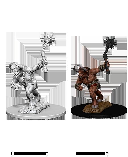 Homem Cavalo nostand Para Dungeons /& Dragão D/&d nolzur/'s Boneco Miniaturas Maravilhoso