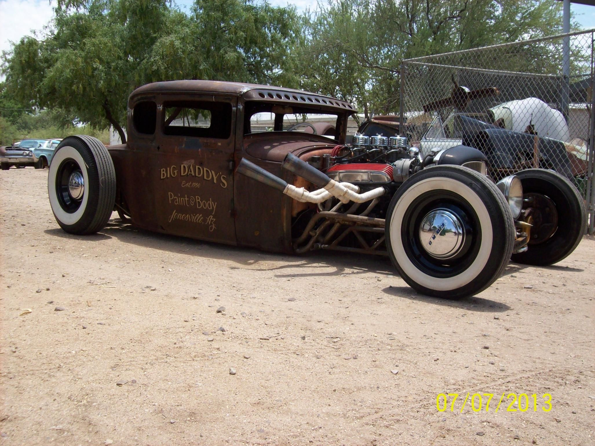 1930s hot rod | 1930 Ford Model-A hot rod rods retro ratrod k ...