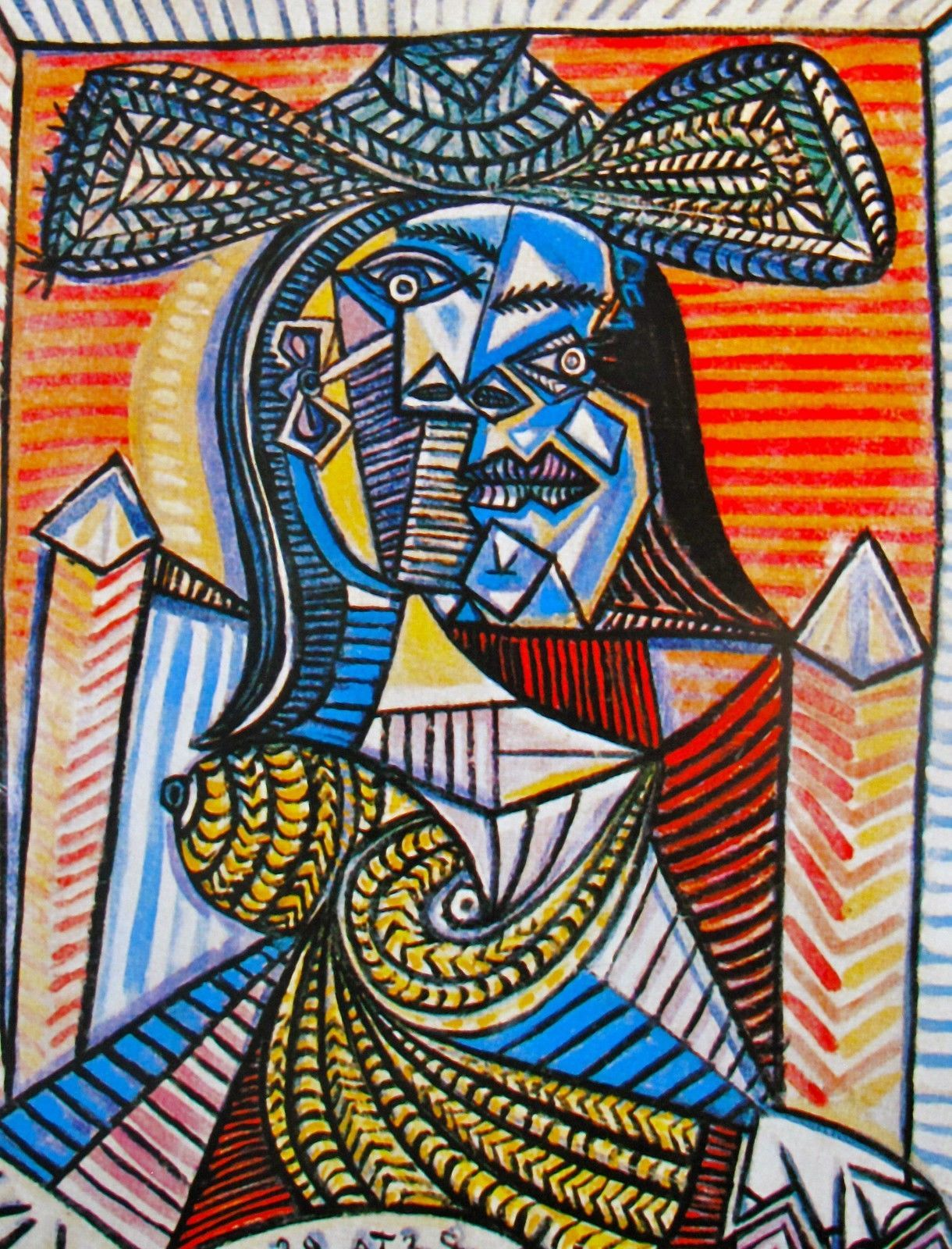 Picasso art style