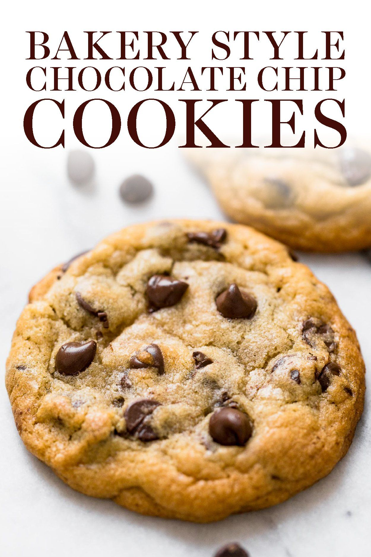 Best Bakery Style Chocolate Chip Cookies Recipe -