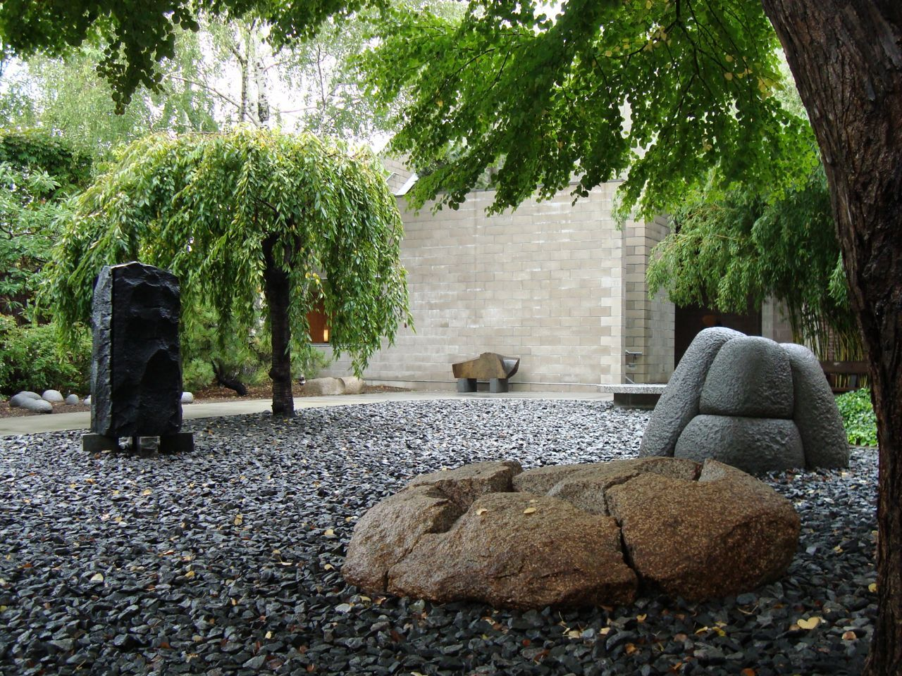 Noguchi Museum ~ The art and the building here are the work of ... for Isamu Noguchi Sculpture Garden  584dqh