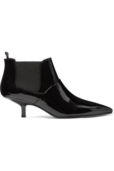 Sale Low Shipping Fee Acne Kity Patent-leather Ankle Boots Perfect Cheap Sale Outlet Store Bc1OzvDD