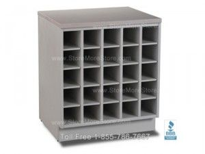 Rolled plan drawing horizontal large document storage cabinet these counter high cubbyhole storage cabinets are perfect for organizing and storing rolled posters blueprints construction drawings malvernweather Image collections