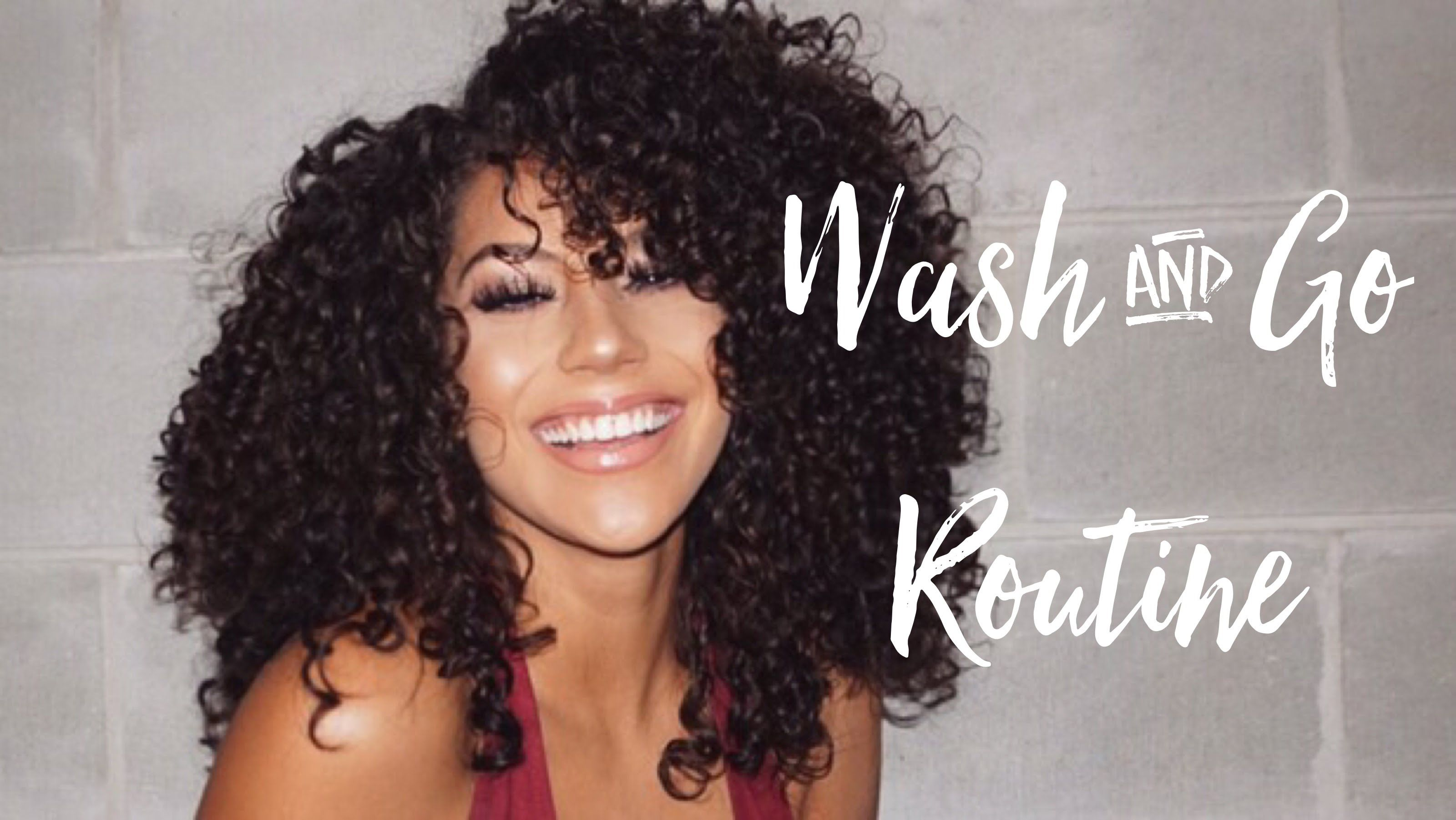 Wash And Go Curly Hair Routine Loc Method 3b Curls Youtube