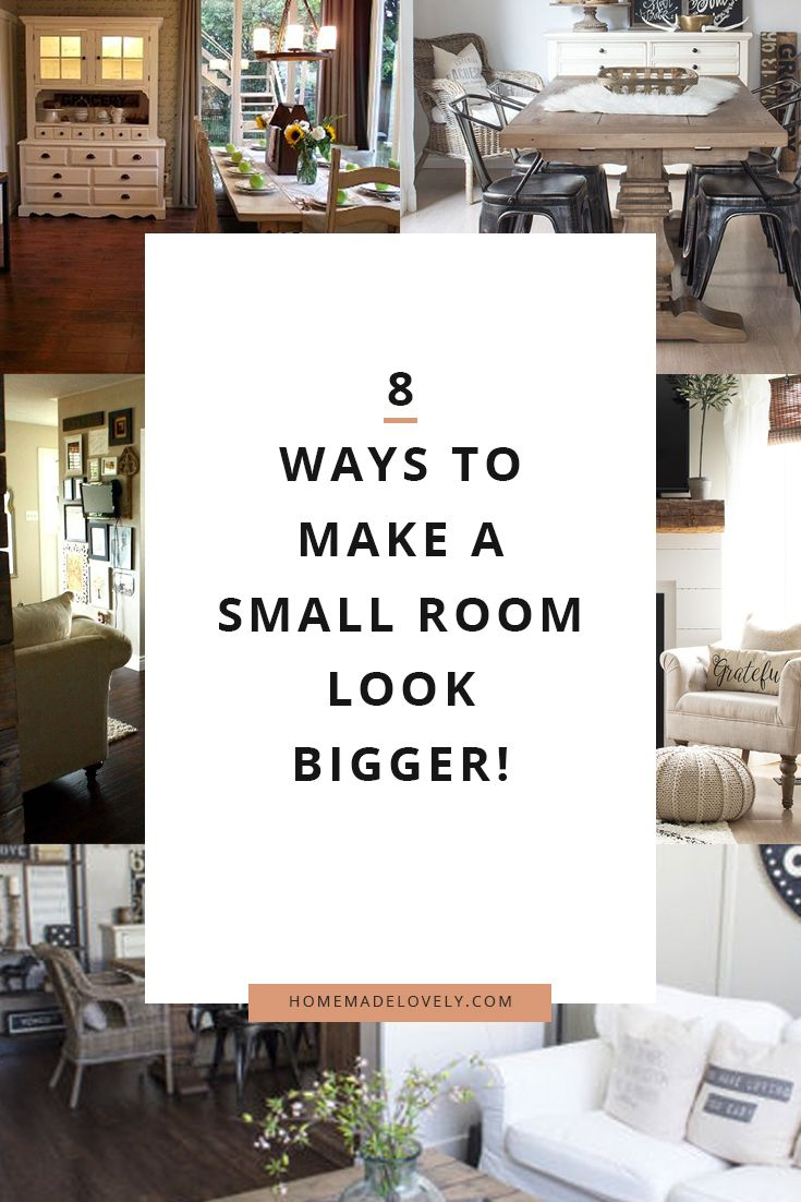 Best How To Make A Small Room Look Bigger 8 Ideas You Can Use 400 x 300